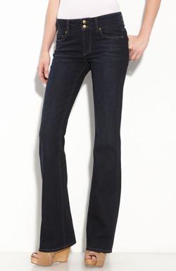 Splurge-worthy: Paige Denim 'Hidden Hills' bootcut stretch denim jeans ($190 at Nordstrom)