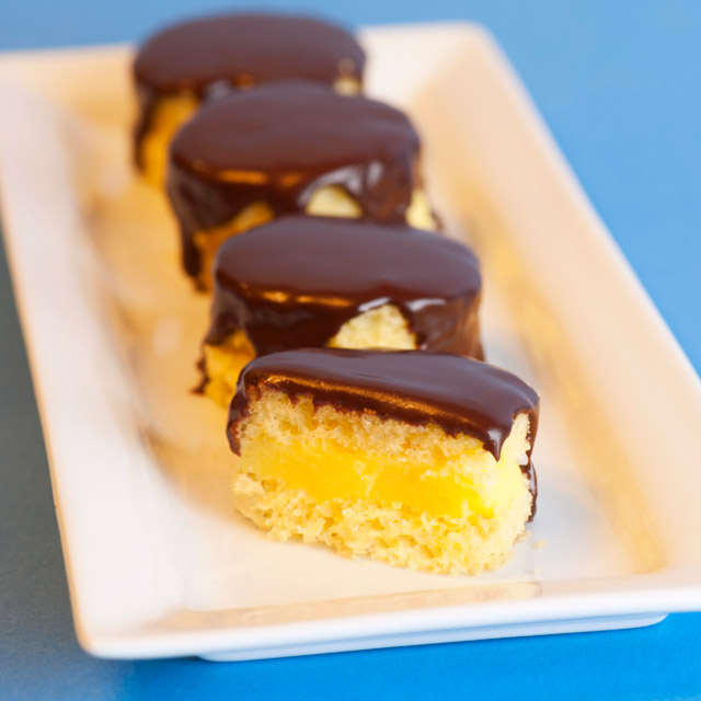 boston creme pie jello shots