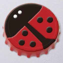 Bottlecap ladybug