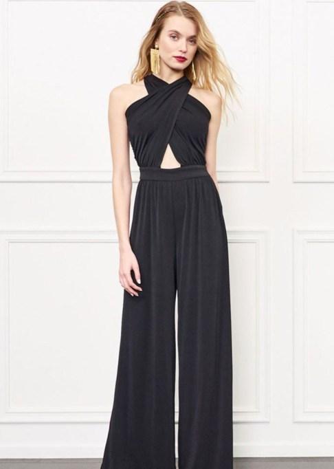 Dressy Jumpsuits: Rachel Zoe Robbins Criss-Cross Halter Jumpsuit | Summer Fashion 2017