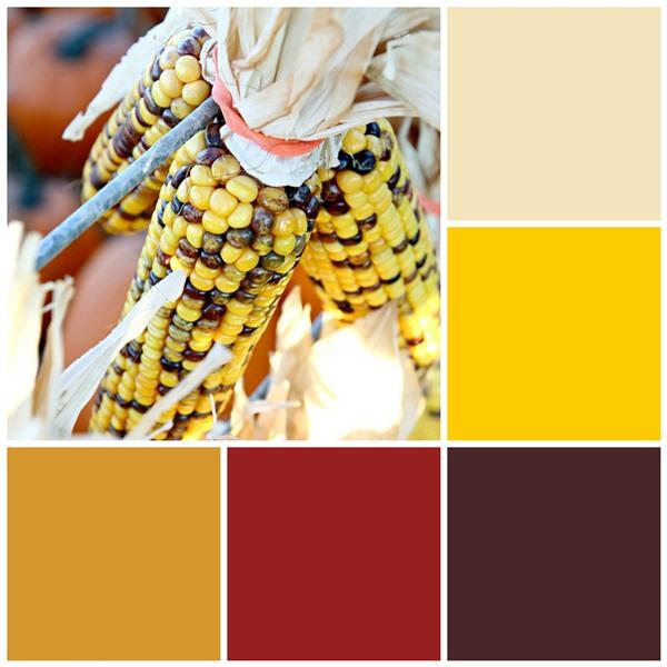 Bountiful corn color scheme