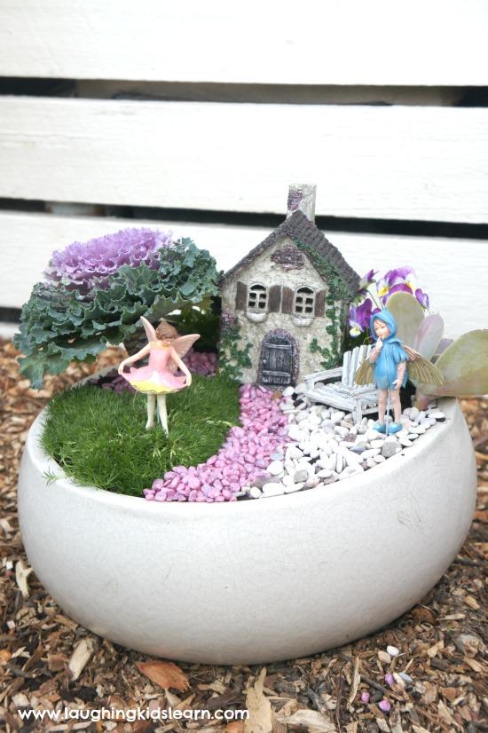 Fairy garden summer craft