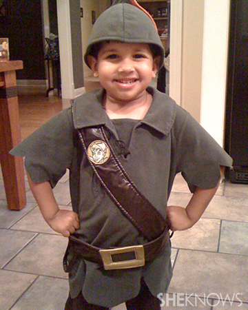Boy dressed up as Peter Pan | Sheknows.com