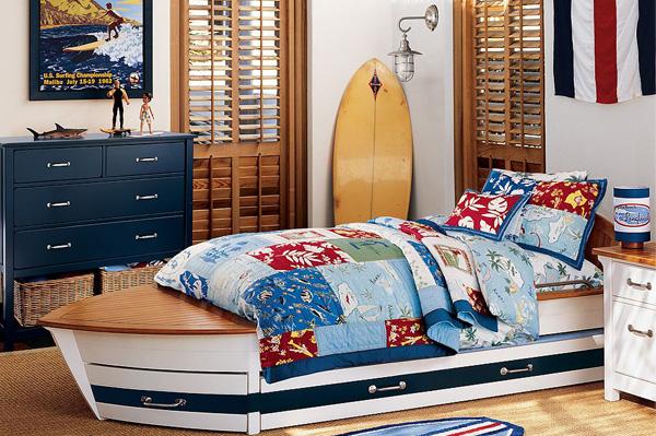 Boys Surf Bedroom