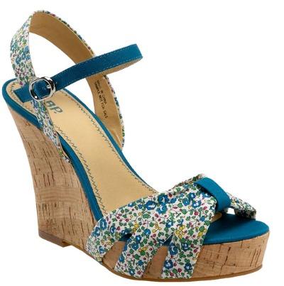 BP Cork wedge spring sandal