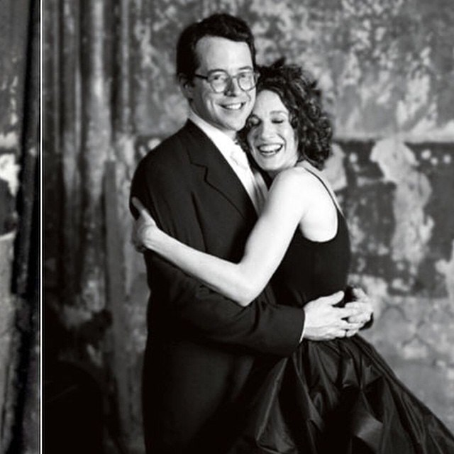 Celebrity Who Wore Unconventional Wedding Dresses: Sarah Jessica Parker | Celebrity Weddings