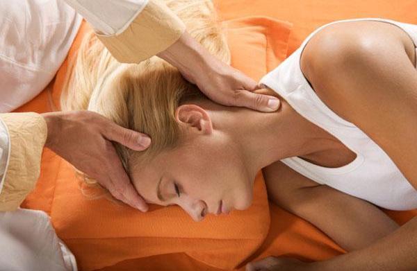 Healing with shiatsu massage