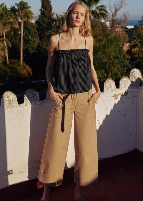 Wide Leg Pants Are Making a Comeback: Nanushka Erm Pants | Summer Style 2017