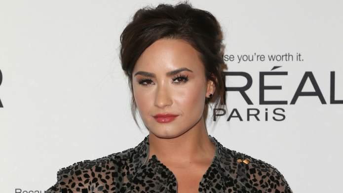 Demi Lovato's not with Luke Rockhold,