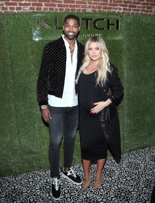 Tristan Thompson & Khloé Kardashian at the Klutch Sports Group 'More Than a Game' Dinner