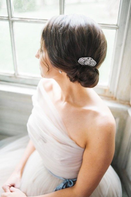 Ethereal Bridal Hair Accessories | Sarah Houston Photography