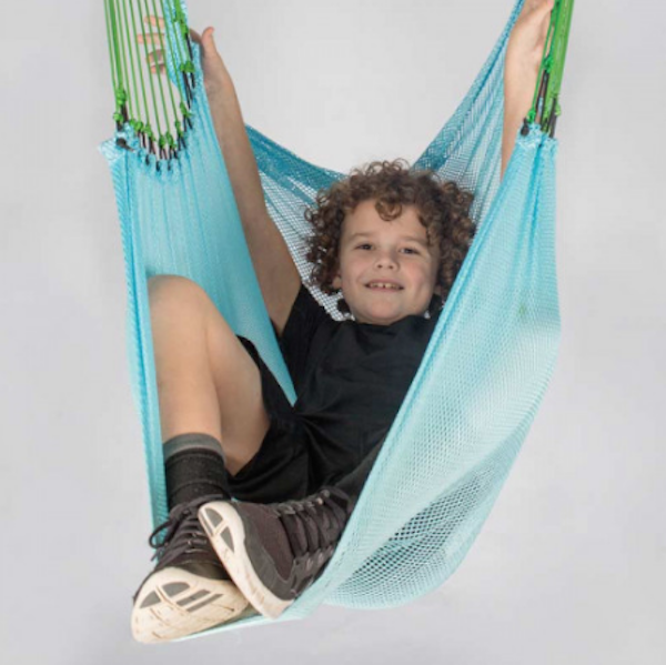 Gifts for kids with autism: Mesh Therapy Swing
