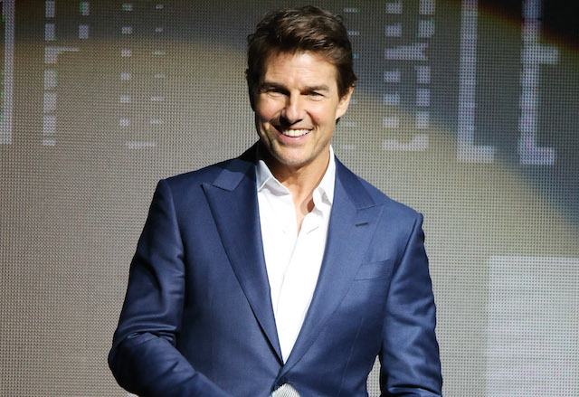 Tom Cruise attends the 2018 CinemaCon - Paramount Pictures special summer presentation