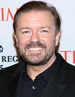Ricky Gervais as the next Oscars