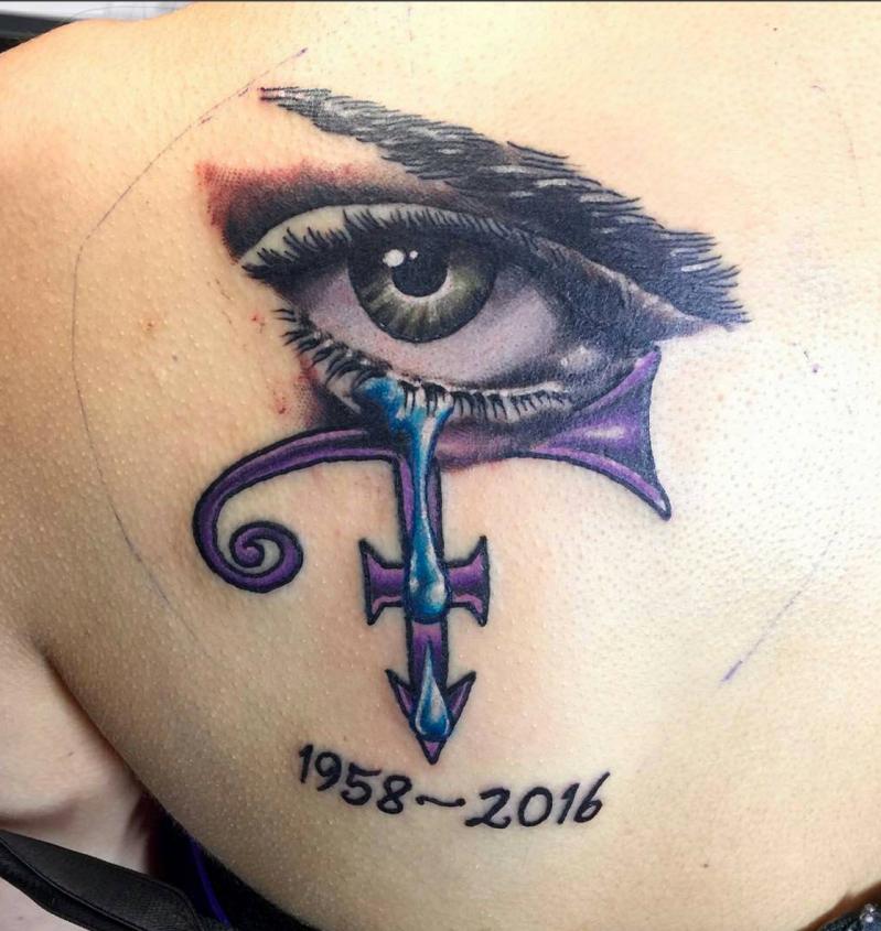 19 Pretty Epic Prince Tattoos Making Us Want To Queue Up Purple Rain Sheknows