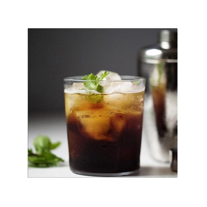 Iced Sparkling Espresso with Mint Starbucks