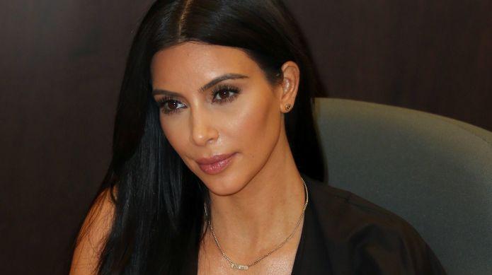 Kim Kardashian's selfie's caption has fans