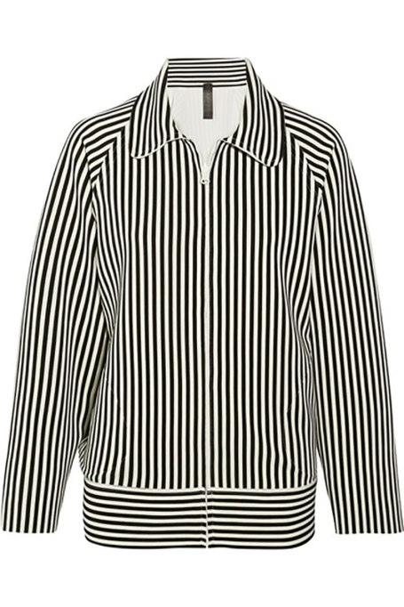 Ways To Wear Graphic Prints: Norma Kamali jacket, at Net-a-Porter | Fall Fashion