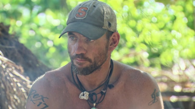 Brad Culpepper at camp on Survivor: Game Changers