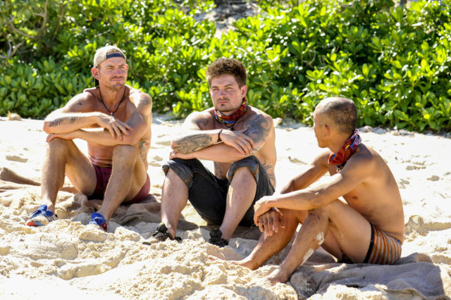 Brad Culpepper, Caleb Reynolds and Tai Trang on Survivor: Game Changers