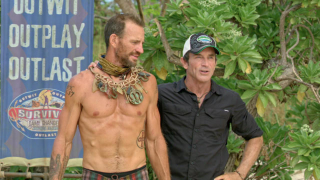 Brad Culpepper wins Immunity on Survivor: Game Changers