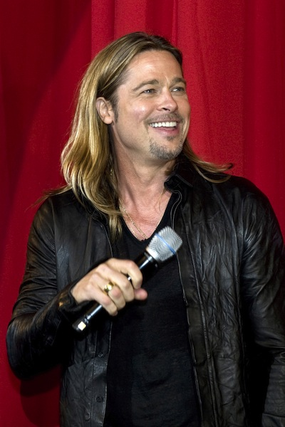 Brad Pitt at the Sydney World War Z premiere