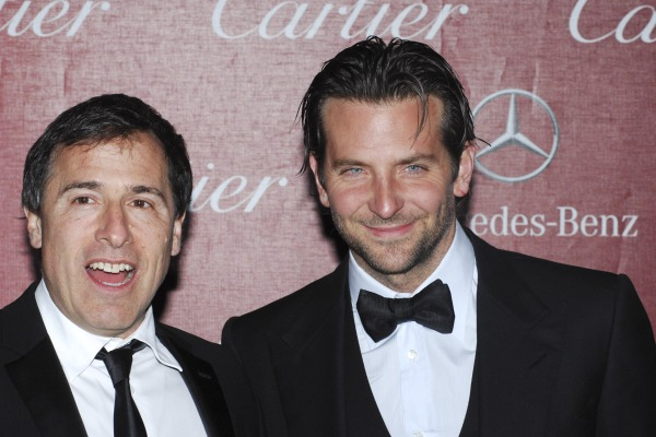 Bradley Cooper and David O. Russell, Palm Springs Film Festival