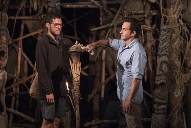 Bradley Kleihege voted off Survivor: Ghost Island