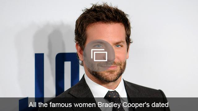 Bradley Cooper girlfriends slideshow