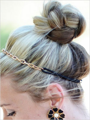 Braided top knot | Sheknows.com