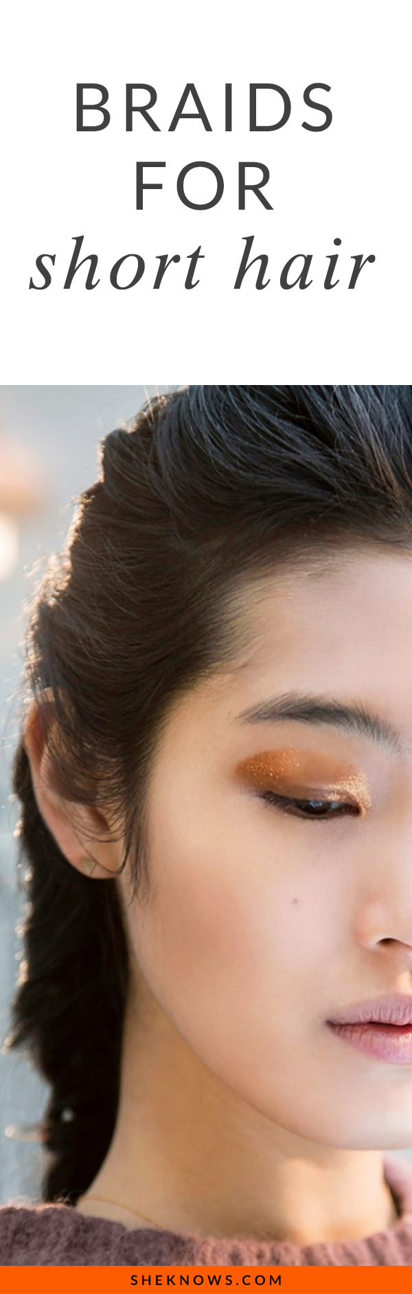5 Pretty Braids You Can Actually Do on Short Hair