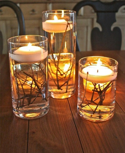 Branch candle