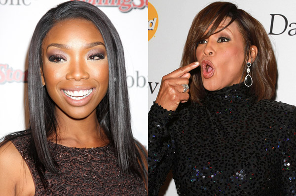 Brandy wants to portray Whitney Houston in a movie