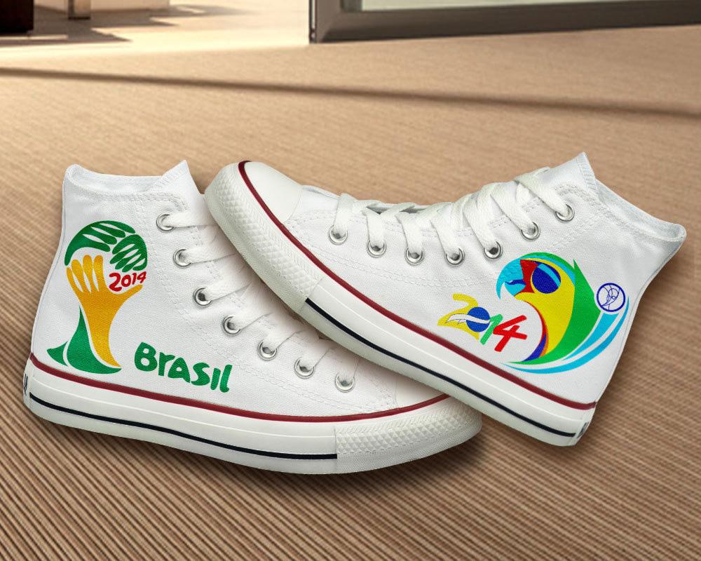 Brasil 2014 Converse sneakers