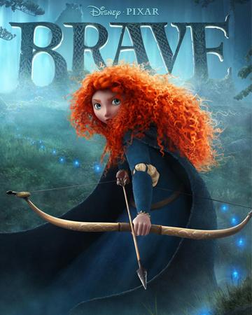 Brave -- Movie poster