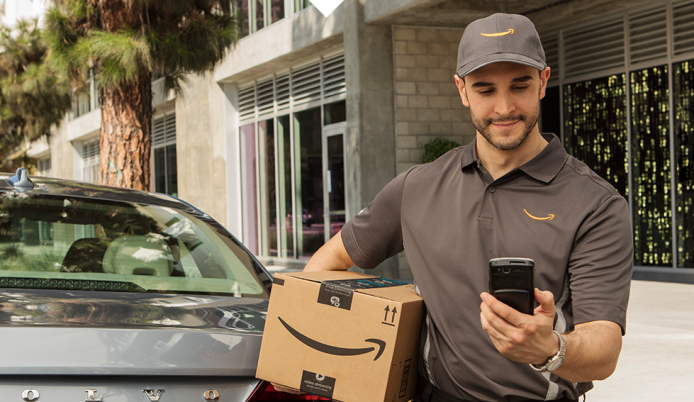 Amazon Will Now Deliver Packages to