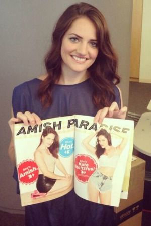 Breaking Amish star Kate Stoltzfus poses for Maxim magazine