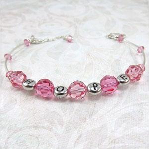 Breast cancer awareness bracelet   Sheknows.ca