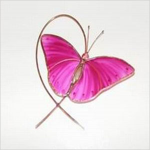 Breast cancer awareness stained glass suncatcher   Sheknows.ca