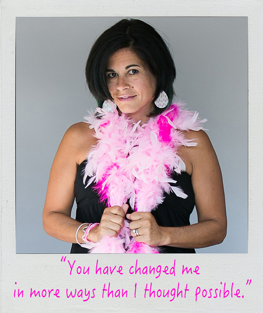 Quote about breast cancer