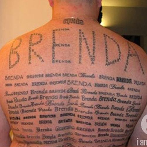Brenda tattoo