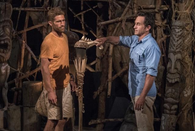 Brendan Shapiro voted off Survivor: Ghost Island