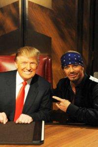 Bret Michaels and Donald Trump