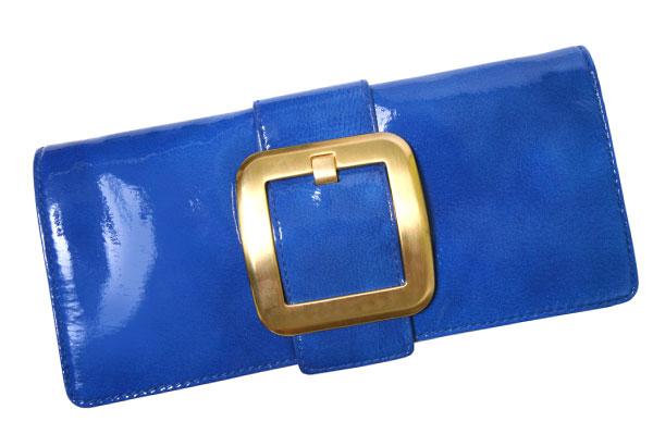 Bright blue clutch | Sheknows.com