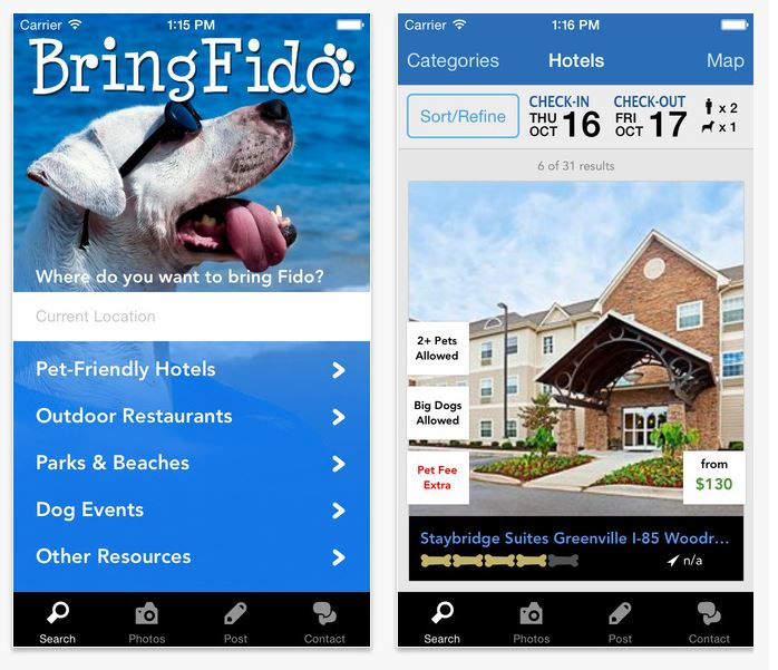 BringFido app