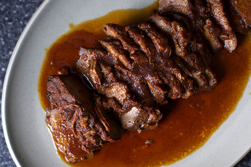 Tangy spiced brisket
