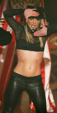 Britney Spears in 2008