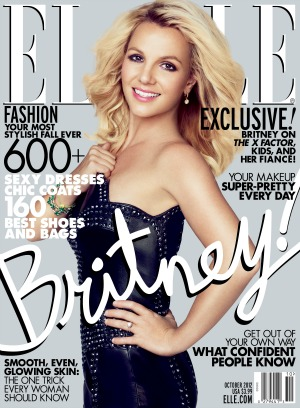 Britney Spears Elle cover