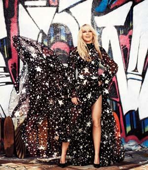 Britney Spears Harpar's Bazaar fashion