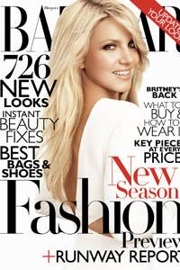 Britney Spears Harper's Bazaar